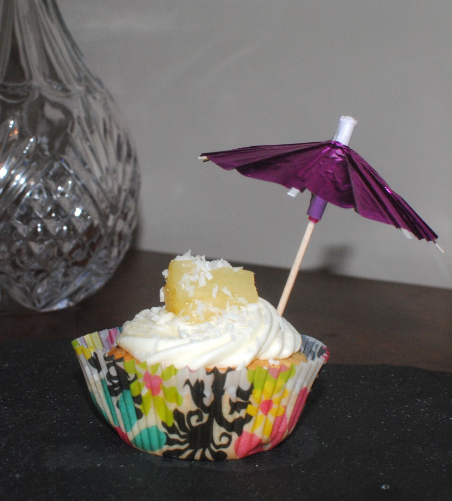 Oodles of Obliciousness - Pina Colada Cupcakes